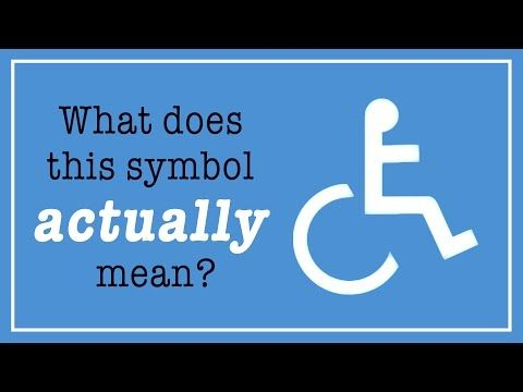 Some of the world's most recognizable symbols      exist to sell products. Others, to steer traffic or advance political      causes. But there's one whose main purpose is to help people. You may      know it as the wheelchair symbol, but its formal title is the International Symbol of Access. But what does the symbol actually mean? And what is its purpose? Adrian Treharne explains.