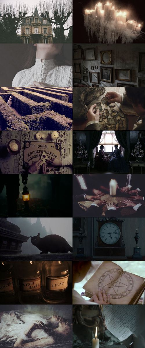 Victorian witch aesthetic, requested by anon