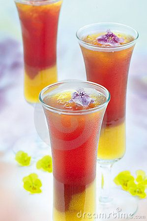 Asian mixed drinks