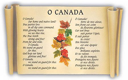 Growing up watching alot of Bruins games, heard alot of the Canadian National Anthem cause the NHL was still mostly Canadian teams. I always liked it.