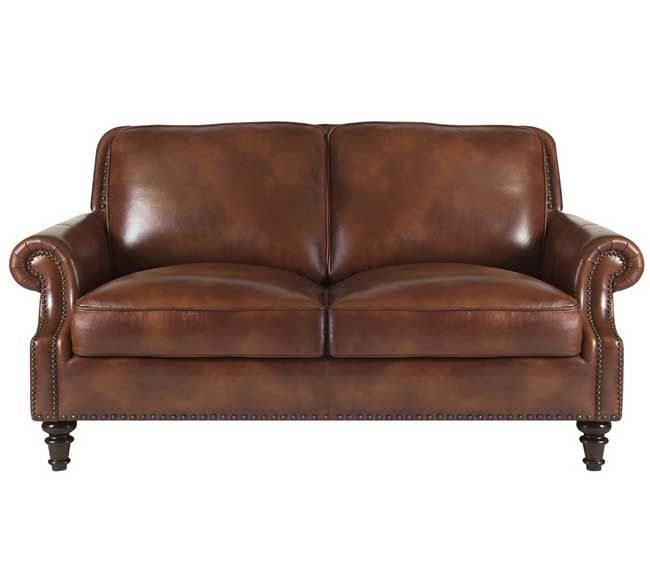 Sofa Leather Workshop: Lazzaro 1009 Sofa Collection In Rustic Sauvage Leather