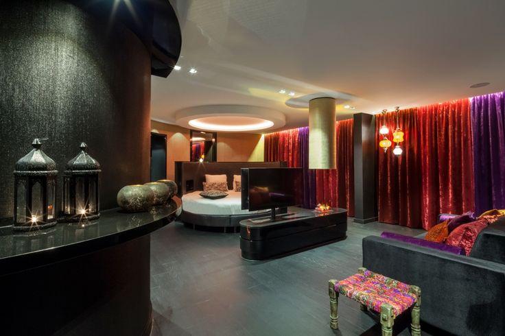 1001 Nacht suite in hotel van der Valk Vianen.