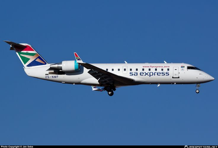 ZS-NMF South African Express Airways Canadair CL-600-2B19 Regional Jet CRJ-200ER