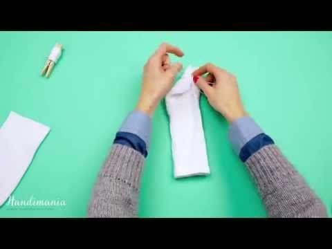 How To Make a Sock Snowman - Cute DIY Snowmen - YouTube