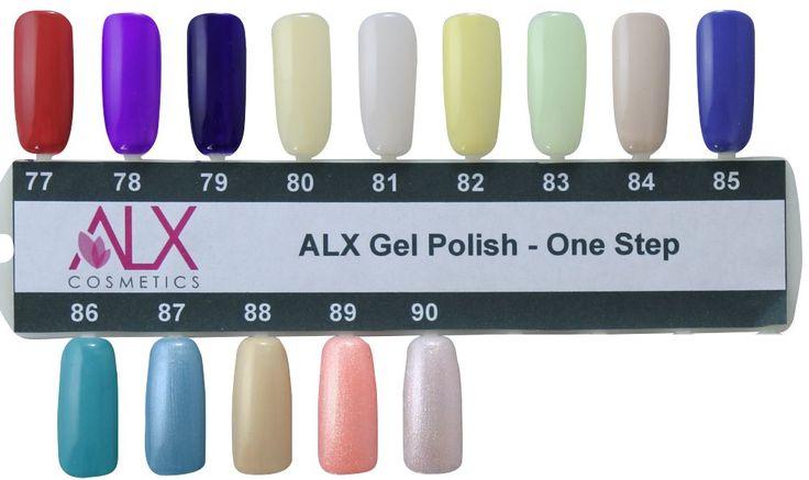 Παλέτα Χρωμάτων ALX Gel Polish