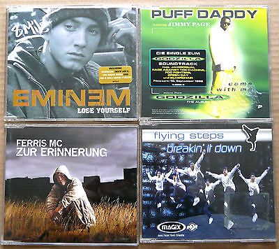 4 Musik CD (Eminem, Puff Daddy, Ferris MC, Flying Steps)sparen25.com , sparen25.de , sparen25.info