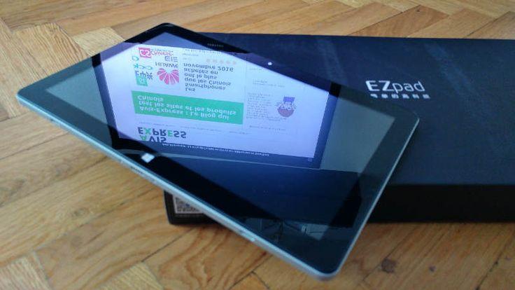 Jumper EZpad 6 - tablette tactile design et finitions