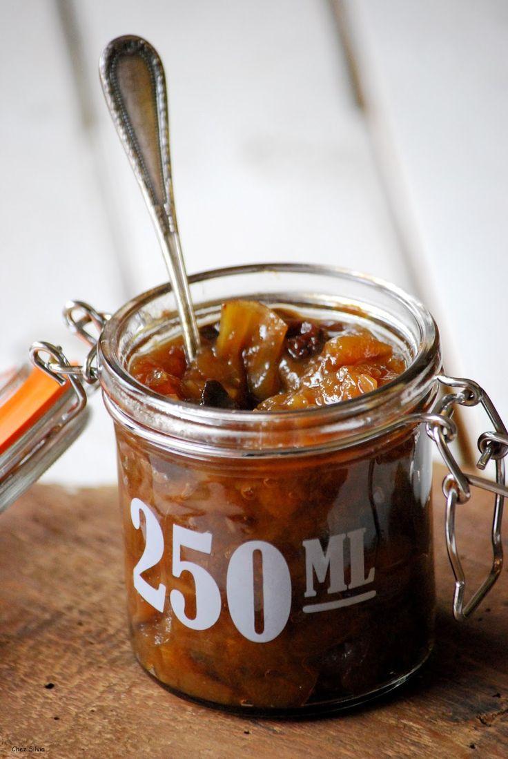 Chutney de Pera y Manzana