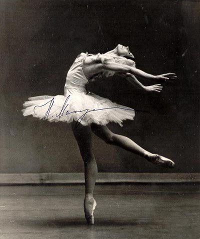sweet old vintage ballerina.