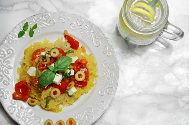spaghetti z dyni makaronowej przepis