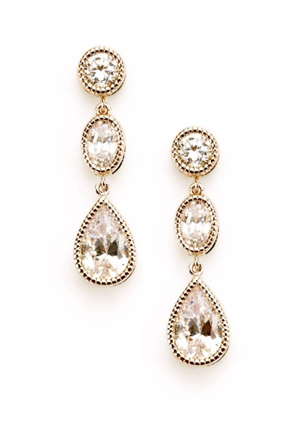 Midnight in Monaco Earrings