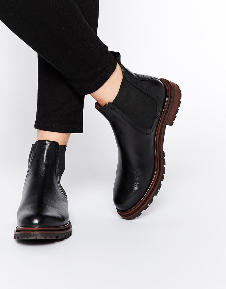 Image 1 ofH By Hudson Wistow Leather Zip Side Boots