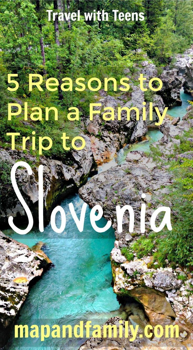 Lots to do on a summer trip to Slovenia with teens: hiking, cycling and exploring caves and castles