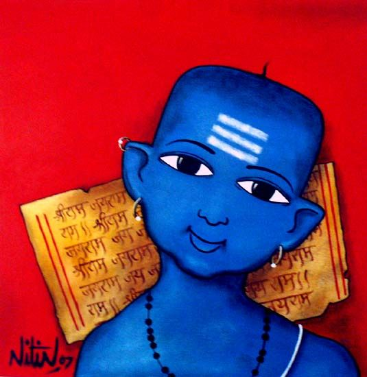 Nitin Ghangrekar Painting - SuchitrraArts.com