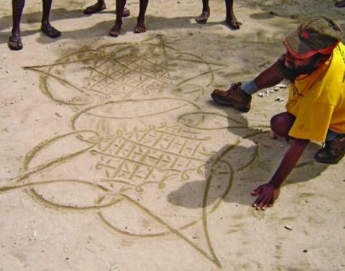 Vanuatu Sand Paintings - UNESCO Intangible Heritage list