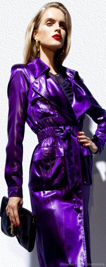 Tom Ford | Purple Coat Dress?  (Coat)?