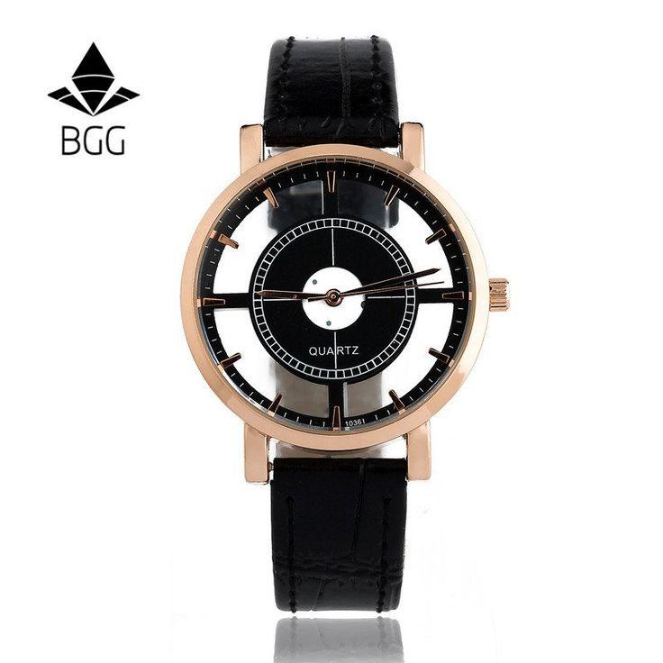 Hollow Women's Luxury Creative Watches Womens Casual Watches Leather Wristband Ladies Dress Quartz Wristwatch Female