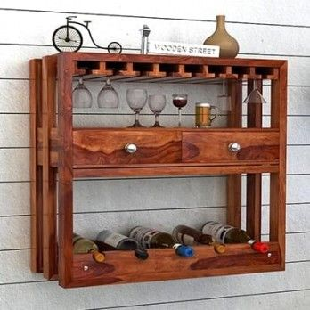 Buy Ferris #Wine #Rack (Teak Finish) online in India at low prices from Wooden Street. Shop for a wide range of new and classic #storage #furniture #online that gives amazing look to your home. Get great discount on wooden #Storage #Furniture with free shipping. Place your order now @ https://www.woodenstreet.com/storage-furniture Available in #Kochi #Kolkata #Lucknow #Ludhiana #Mumbai #Nagpur