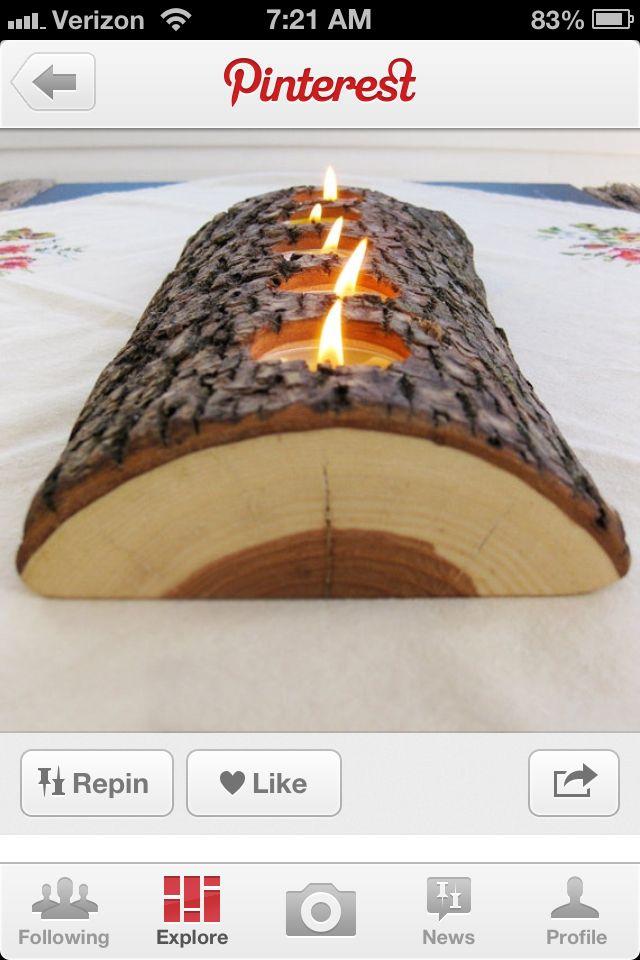 Log candels