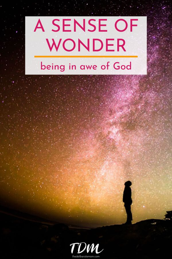 God is so great, so massive, so pure, it's hard for the human mind to comprehend his greatness. How to live with a sense of wonder, in awe of God. #christianfaith #wonderstruck #God