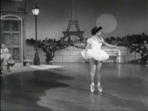 "Annette Funicello performing a ballet to the sweet song Jimmy Dodd wrote specially for her on the original ""Mickey Mouse Club"""
