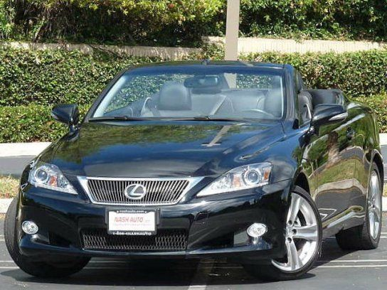 Cars for Sale: 2012 Lexus IS 250C in Costa Mesa, CA 92626: Convertible Details - 410492248 - Autotrader