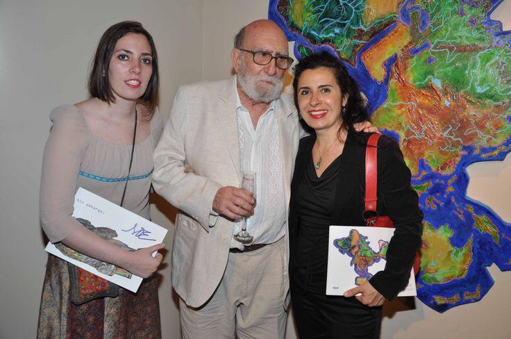 Luis Félipe Yuyo Noé , Elena Nieves y Ana Clara Diquattro.