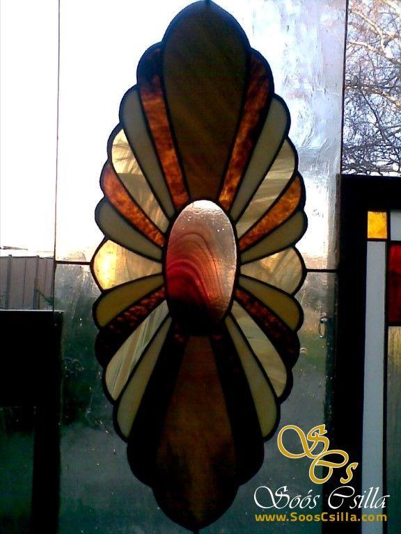Farebná Vitráž Výplň Okna Ozdoby Staršie Práce |