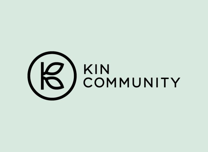 Kin Community logo designed by The Working Assembly
