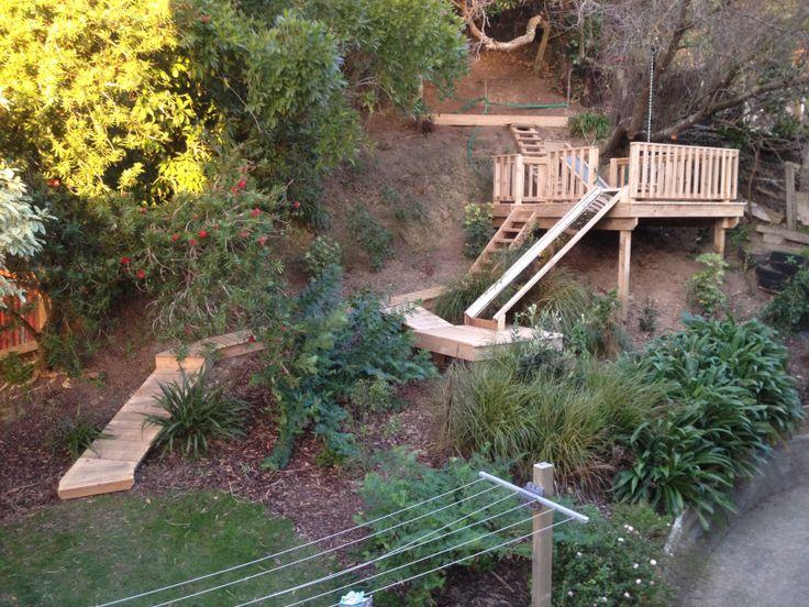Playground Tree Fort Adventure playground