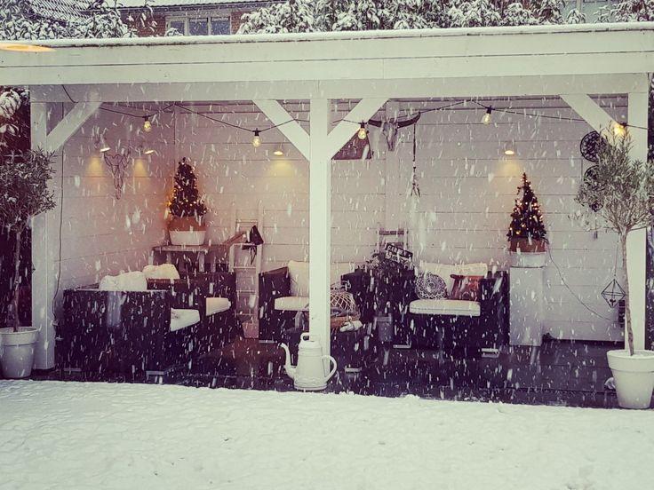 Winter #snow #overkapping