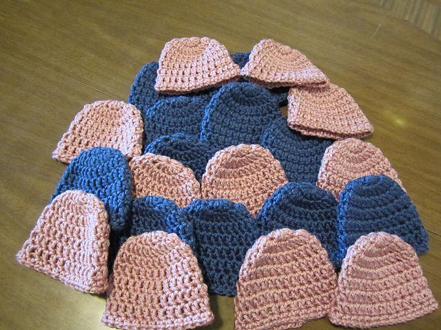Ravelry: Project Gallery for Teresa's 10 Minute Crochet Preemie Hat pattern by Teresa Bowman