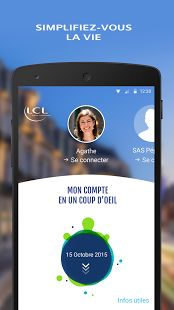 Mes Comptes - LCL pour mobile– Vignette de la capture d'écran