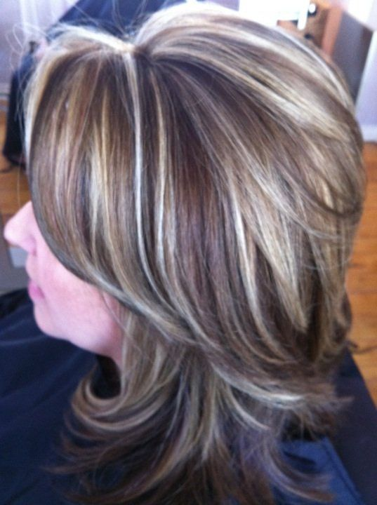 low lights on gray hair - Google Search | Hairstyles ...