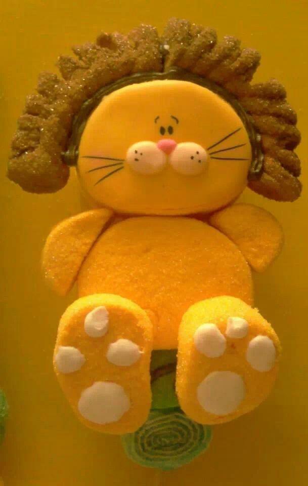 Marshmallow Pop - Lion
