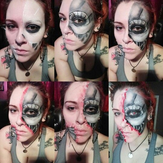 Top 32 Ideas About Terminator Make Up On Pinterest