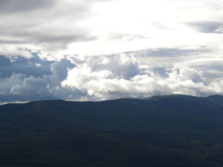 clouds first lookout greylock the most beautiful view of the hike.