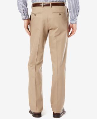 Dockers Men's Stretch Big & Tall Classic Fit Signature Khaki Pants Pleated D3 - Tan/Beige 44x29