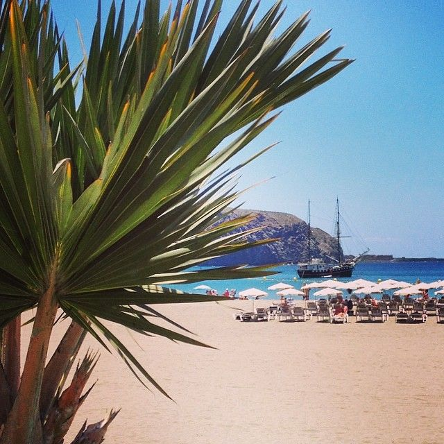 Los Christianos Tenerife - beach life by Amy @ Rosey Pops
