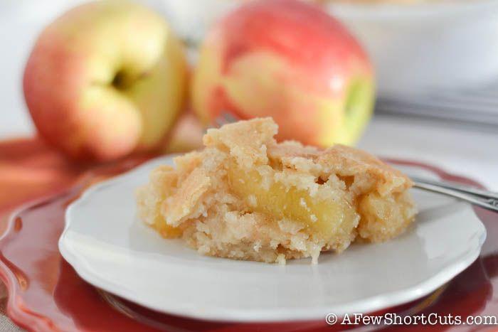 Einfache Apple Pie Snickerdoodle Bars