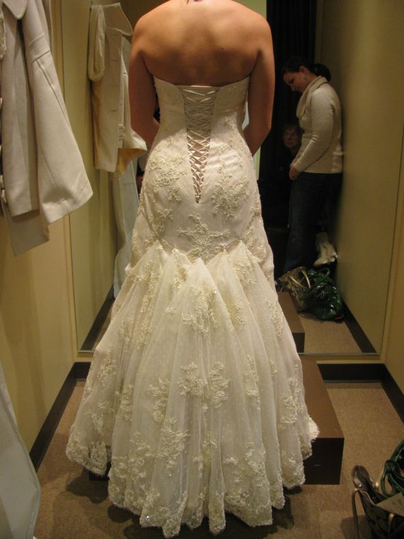 17 best images about bustles on pinterest tulle dress for Wedding dress train bustle