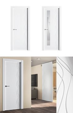 17 mejores ideas sobre puertas lacadas en pinterest - Renovar puertas sapelly ...