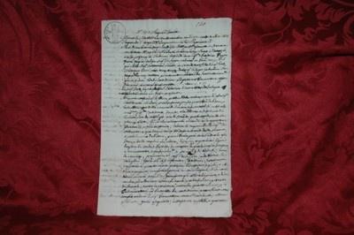 Regno d'Italia 1813 - Napoleone - Nomina a Procuratore Cremona