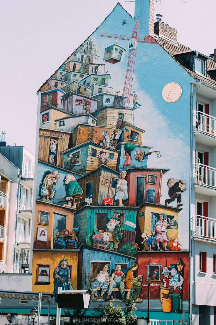 Street Art House, Düsseldorf, Germany