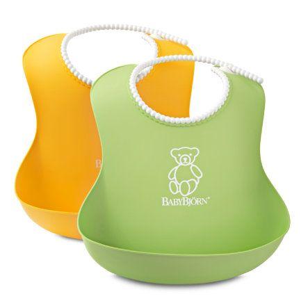 BABYBJÖRN Lätzchen 2er Set grün gelb bei baby-markt.ch - Ab 80 CHF versandkostenfrei ✓ Schnelle Lieferung ✓ Jetzt bequem online kaufen!