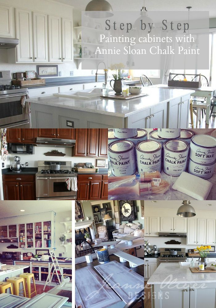 1000 Images About Annie Sloan Chalk Painted Kitchens On