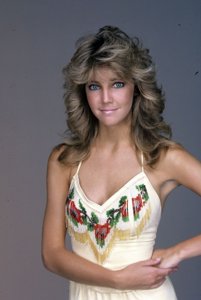 Heather Locklear, 1983 I had such a crush! I guess I was twelve.