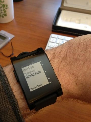 The Pebble watch shows us the future of wearable gadgets today. A must have for many. #agile #tech