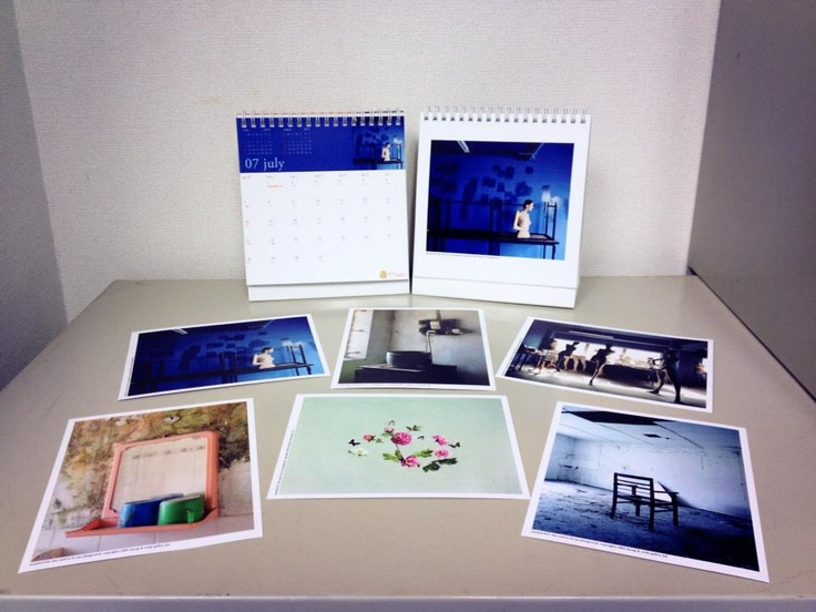 A set of souvenirs selling in Artify Gallery            Calendar 2013 98 each          Postcard 20 each        Set of 6 Postcards + Calendar 2013 198 per set