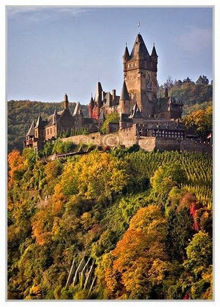 Cochem - Germany - went here with my mom a few years back. Would love to go again!